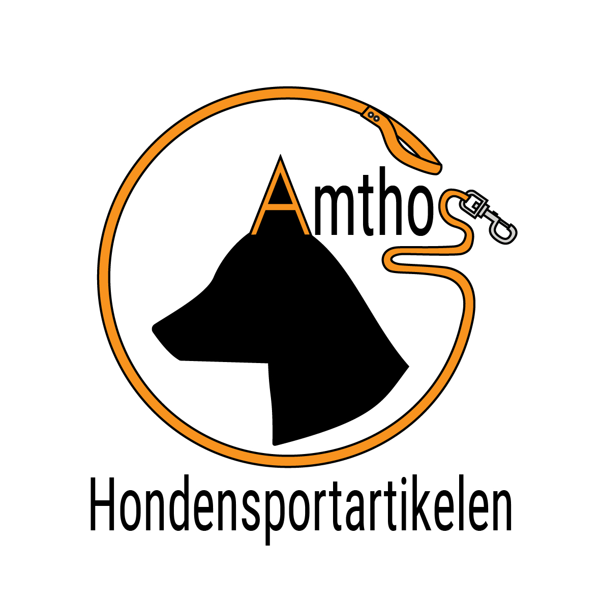 Logo Amthos Hondensportartikelen webshop